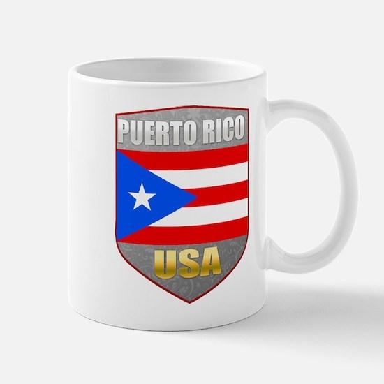 Puerto Rico USA Crest Mug