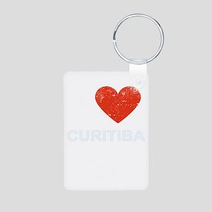 I Love Curitiba Keychains