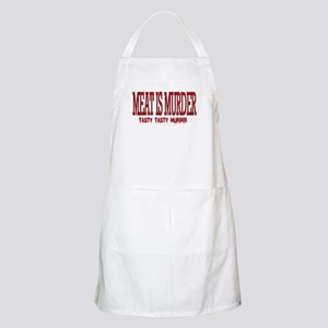 MEAT IS MURDER... BBQ Apron