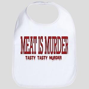 MEAT IS MURDER... Bib