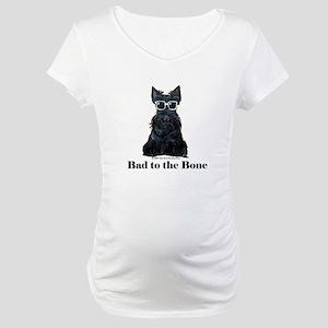 Scottie Bad to the Bone Maternity T-Shirt