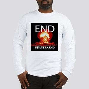 End Guantanamo Long Sleeve T-Shirt