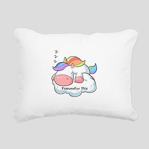 Cute Unicorn Dreams Personalized Rectangular Canva
