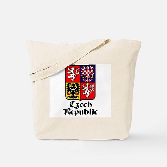 Czech Rep: Heraldic Tote Bag