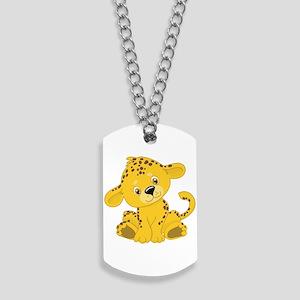 Baby Cheetah/Leopard Dog Tags