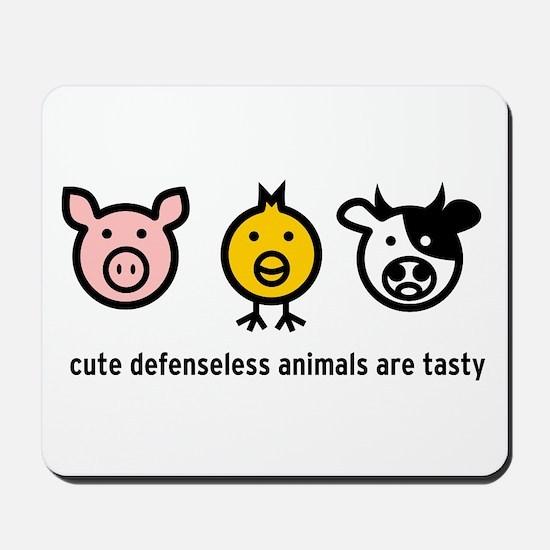 Cute Meat Mousepad