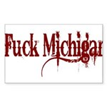 Wrecked FM Rectangle Sticker 10 pk)