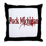 Wrecked FM Throw Pillow