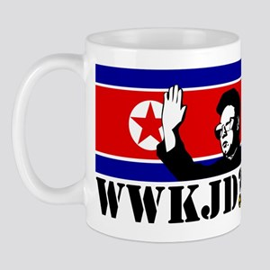 What Would Kim Jong Do? Mug