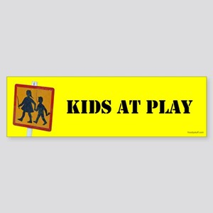 Kids at Play Bumper Sticker