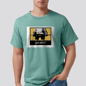 Got Stick? Ash Grey T-Shirt