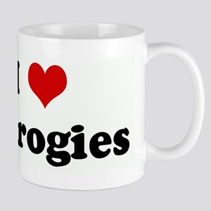 I Love Pierogies Mug