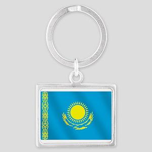 Flag Of Kazakhstan Keychains