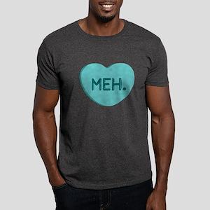 Meh Candy Heart Dark T-Shirt