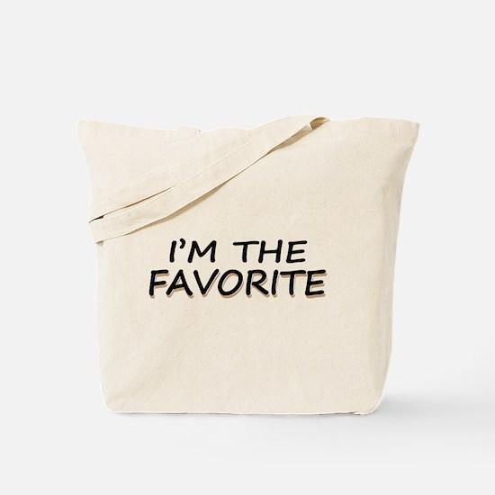 I'M The Favorite Tote Bag