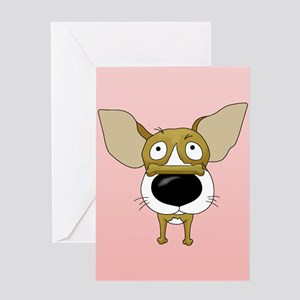 Chihuahua Valentine's Day Greeting Card