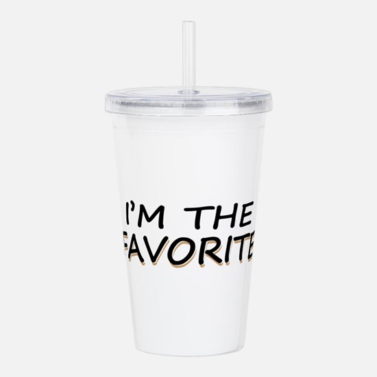 I'M The Favorite Acrylic Double-wall Tumbler
