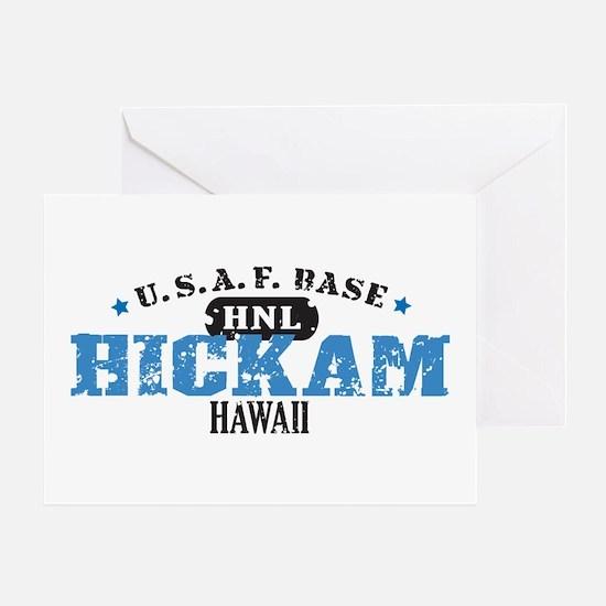Hickam Air Force Base Greeting Card