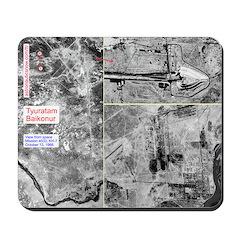 Mousepad Baikonur Tyuratam From Space 1966
