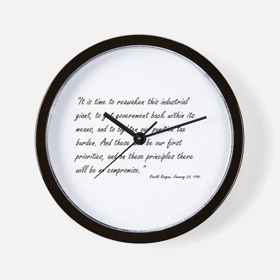 Cute Sean hannity Wall Clock