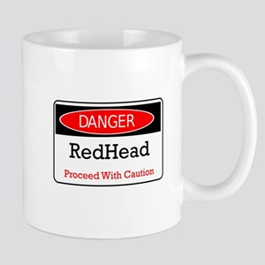 Danger! Red Head! Mug