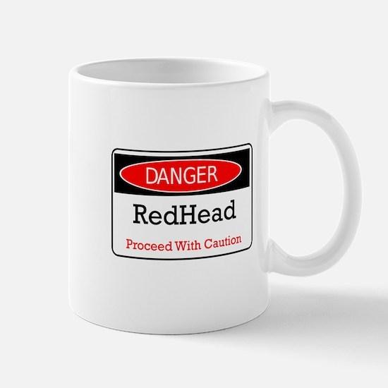 Danger! Red Head! Mug
