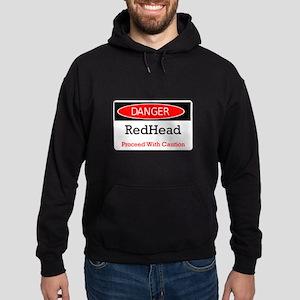 Danger! Red Head! Hoodie (dark)