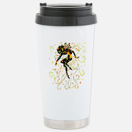 Fall Fairy Stainless Steel Travel Mug