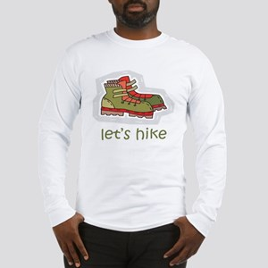 Let's Hike Green Long Sleeve T-Shirt