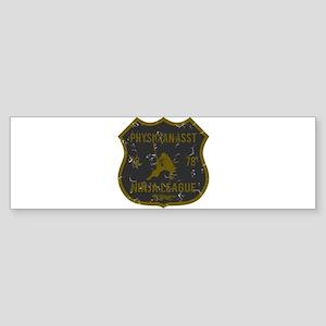 Physician Asst Ninja League Bumper Sticker