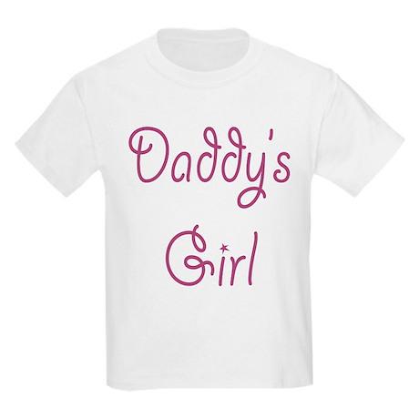 Daddy's Girl Kids Light T-Shirt