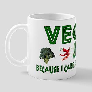 Vegans Care About Planet Mug