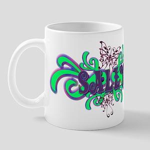 Sally's Butterfly Name Mug