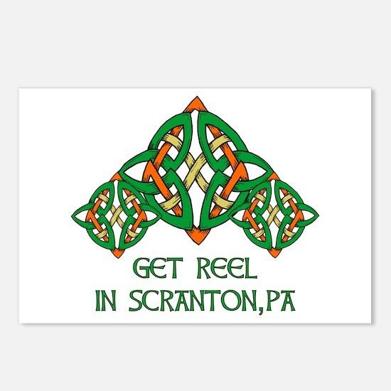 Get Reel In Scranton Postcards (Package of 8)