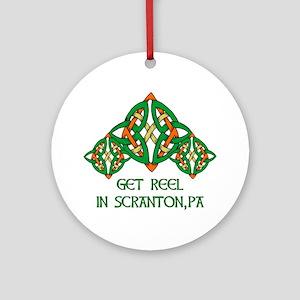 Get Reel In Scranton Ornament (Round)