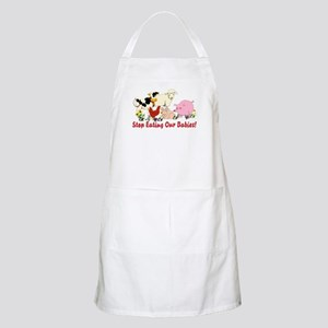Stop Eating Our Babies Light Apron
