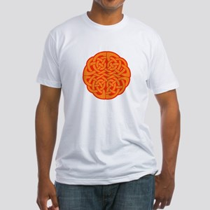Celtic Knot 4 Fitted T-Shirt