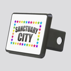Sanctuary City Rectangular Hitch Cover