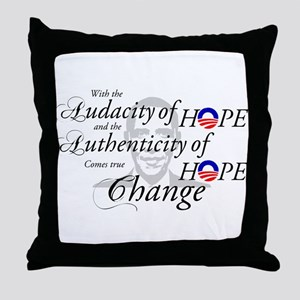...Comes True Change Throw Pillow