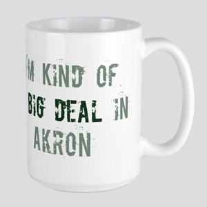 Big deal in Akron Large Mug