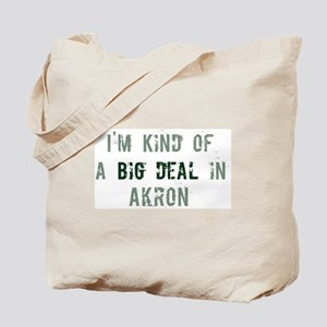 Big deal in Akron Tote Bag