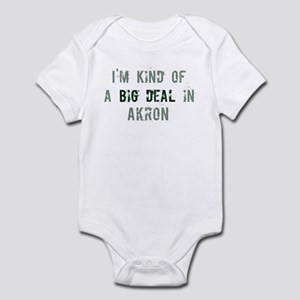 Big deal in Akron Infant Bodysuit