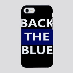 BACK THE BLUE iPhone 8/7 Tough Case
