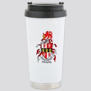 MURPHY Coat of Arms Stainless Steel Travel Mug
