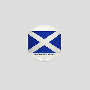 Scotland St Andrews Flag Mini Button