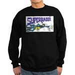 Superrabbi (jewish)(dark) Sweatshirt (dark)