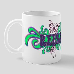 Reesa's Butterfly Name Mug