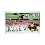 Track King Rectangle Magnet