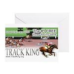 Track King Greeting Card