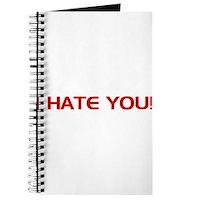 I Hate You! Journal